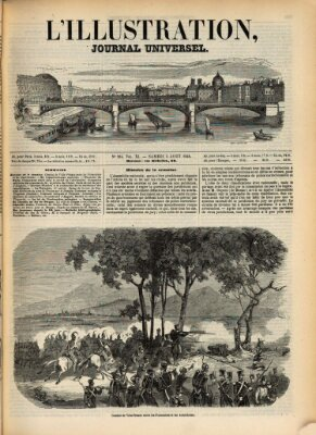 L' illustration Samstag 5. August 1848