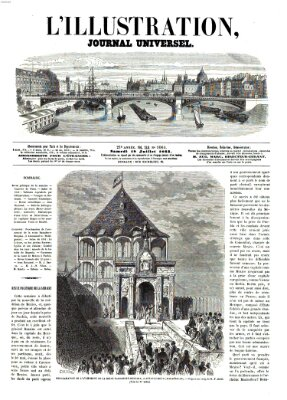 L' illustration Samstag 18. Juli 1863