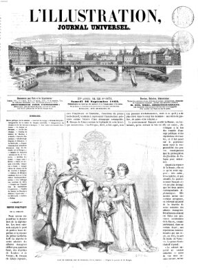 L' illustration Samstag 26. September 1863