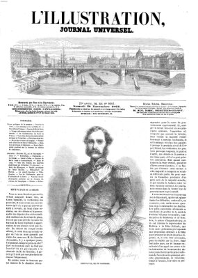 L' illustration Samstag 28. November 1863