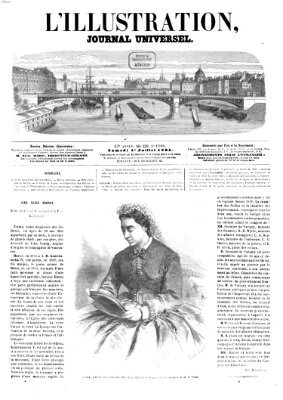 L' illustration Samstag 1. Juli 1865