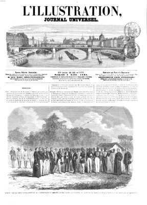 L' illustration Samstag 5. August 1865