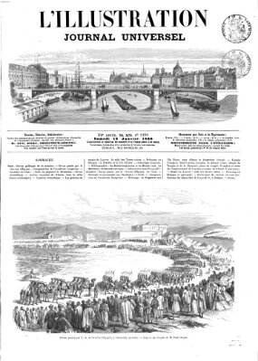 L' illustration Samstag 13. Januar 1866