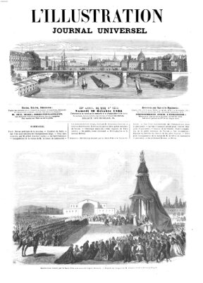 L' illustration Samstag 20. Oktober 1866