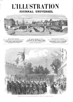 L' illustration Samstag 10. November 1866