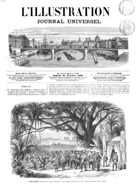 L' illustration Samstag 22. Februar 1868
