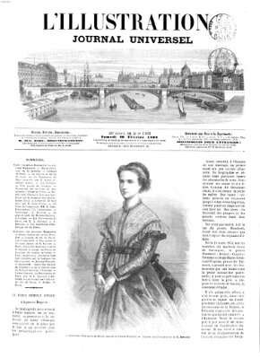 L' illustration Samstag 29. Februar 1868