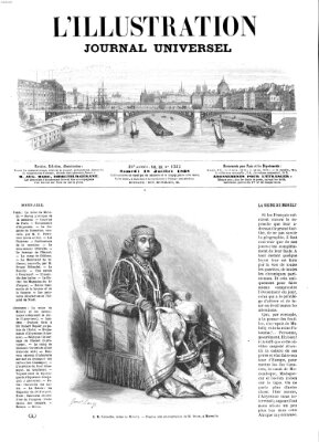 L' illustration Samstag 18. Juli 1868