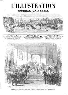 L' illustration Samstag 11. September 1869