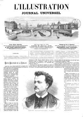 L' illustration Samstag 22. Januar 1870