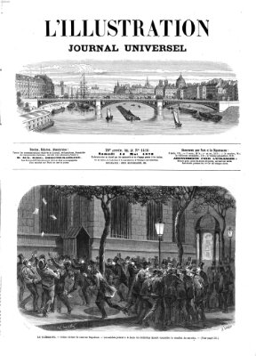 L' illustration Samstag 14. Mai 1870