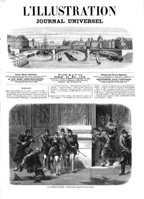 L' illustration Samstag 21. Mai 1870