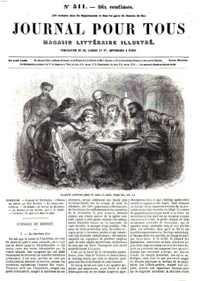 Journal pour tous Samstag 23. August 1862