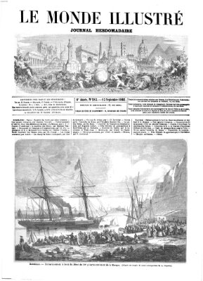 Le monde illustré Samstag 13. September 1862