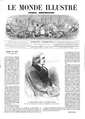 Le monde illustré Samstag 26. September 1863