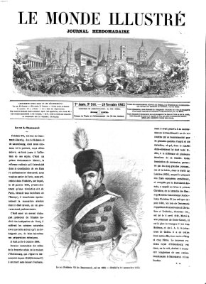 Le monde illustré Samstag 28. November 1863