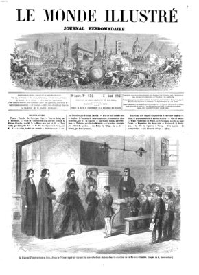 Le monde illustré Samstag 5. August 1865