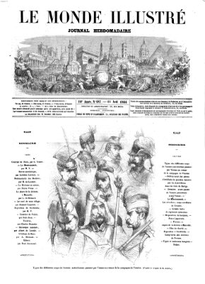 Le monde illustré Samstag 11. August 1866