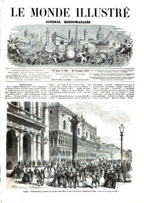 Le monde illustré Samstag 10. November 1866