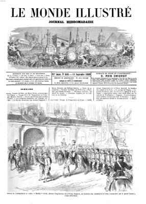 Le monde illustré Samstag 11. September 1869