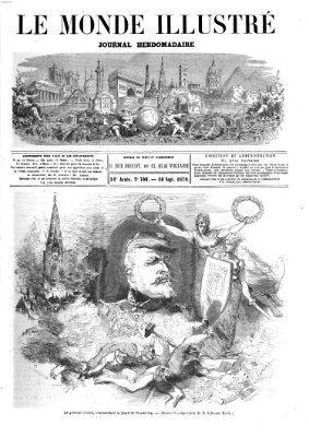 Le monde illustré Samstag 10. September 1870