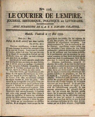 Le courier de l'Empire Freitag 17. Mai 1799