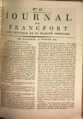 Journal de Francfort