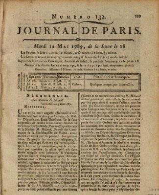 Journal de Paris 〈Paris〉 Dienstag 12. Mai 1789