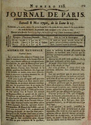 Journal de Paris 〈Paris〉 Samstag 8. Mai 1790