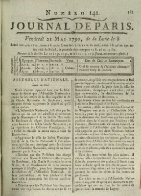Journal de Paris 〈Paris〉 Freitag 21. Mai 1790