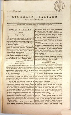Giornale italiano Freitag 2. September 1808