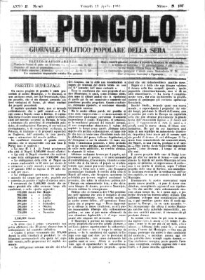 Il pungolo Freitag 19. April 1861