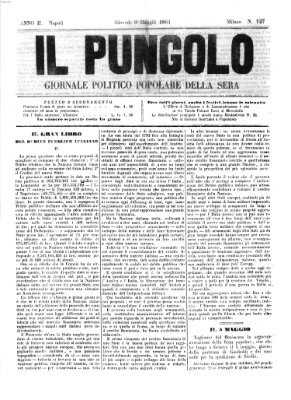 Il pungolo Donnerstag 9. Mai 1861