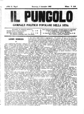 Il pungolo Sonntag 1. September 1861