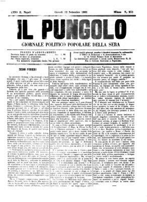 Il pungolo Donnerstag 12. September 1861