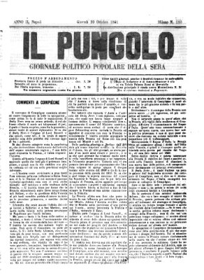 Il pungolo Donnerstag 10. Oktober 1861