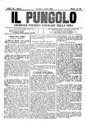 Il pungolo Freitag 4. April 1862