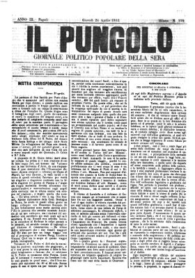 Il pungolo Donnerstag 24. April 1862
