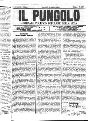 Il pungolo Mittwoch 20. August 1862