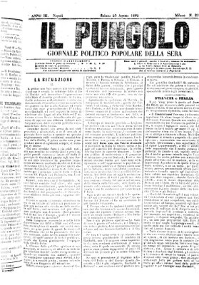 Il pungolo Samstag 23. August 1862