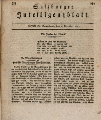 Salzburger Intelligenzblatt