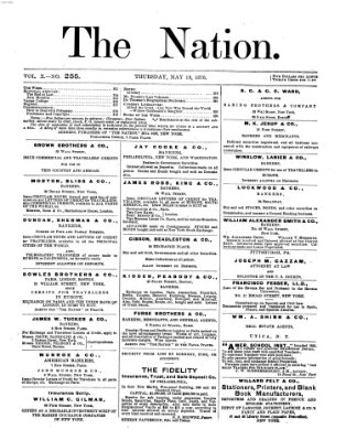 The nation Donnerstag 19. Mai 1870