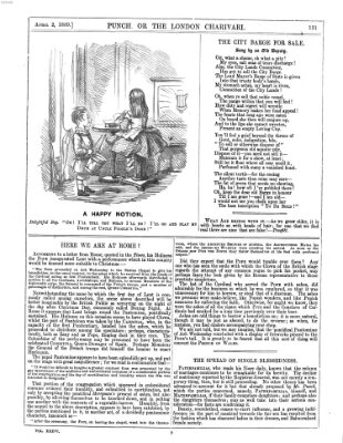 Punch Samstag 2. April 1859