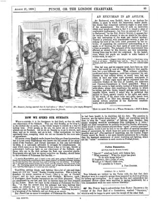 Punch Samstag 27. August 1859