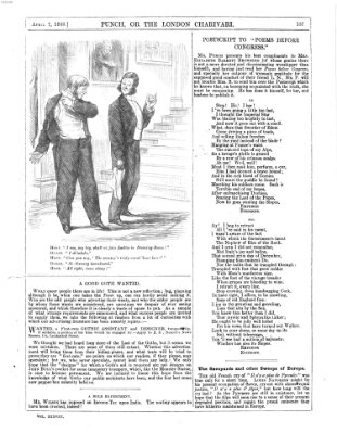 Punch Samstag 7. April 1860