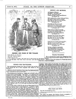Punch Samstag 29. August 1863