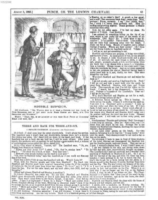Punch Samstag 5. August 1865