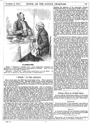 Punch Samstag 10. November 1866