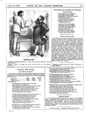 Punch Samstag 22. August 1868