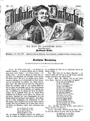 Illustrirter Dorfbarbier Sonntag 27. April 1856